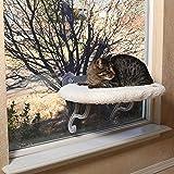 K&H Pet | Cuscino da davanzale per Gatto Universal Mount Kitty Sill | Cuccia da Finestra per Gatti | Pile