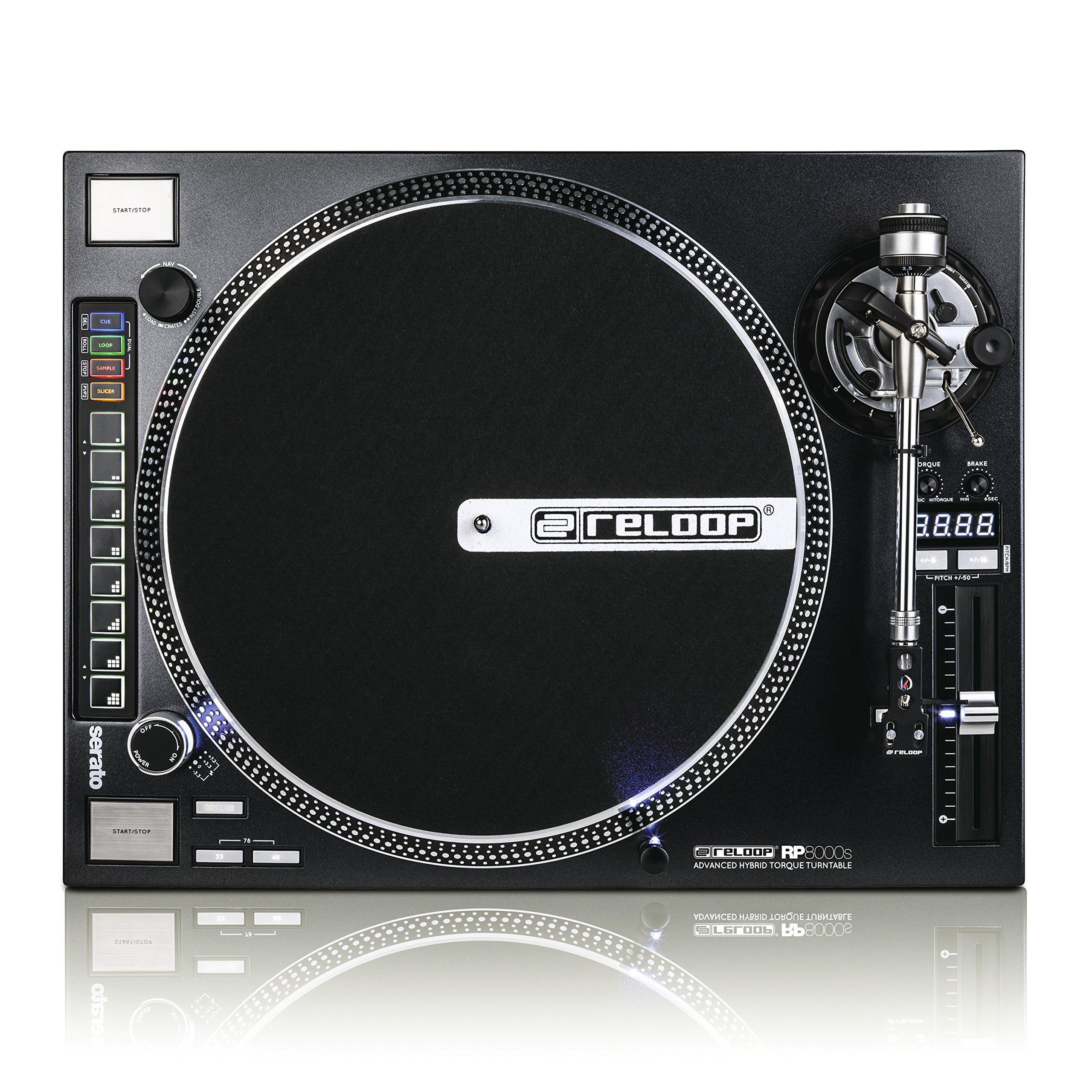 Tourne-disque Reloop RP-7000,pour DJ, avec couple élevé, entraînement direct par Quartz, réglable en hauteur
