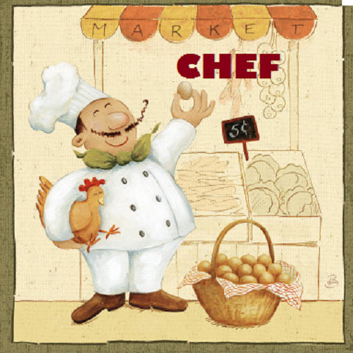 Küchenchef (Besten Salat-kochbuch)