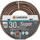 """GARDENA Premium SuperFLEX Schlauch 13mm (1/2""""), 30 m: Gartenschlauch mit Power-Grip-Profil, 35 bar Berstdruck, hochflexibel, formstabil, UV-beständig (18096-20)"""