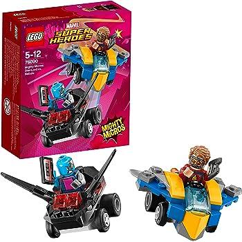 LEGO UK - 76090 Marvel Super Heroes Mighty Micros: Star-Lord versus Nebula Popular Superhero Toy for Kids