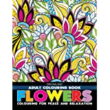 Flowers- Colouring Book for Adults