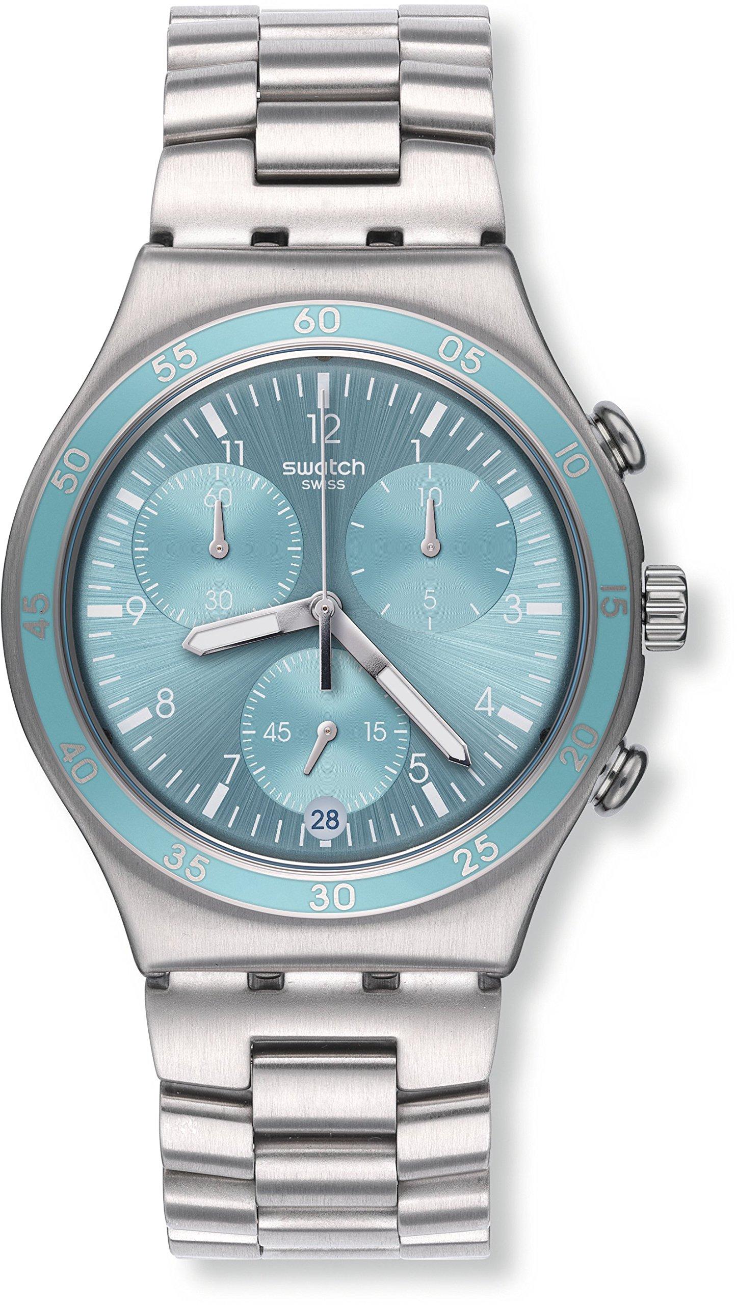 Watch Swatch Irony Chrono YCS589G CLEAR WATER