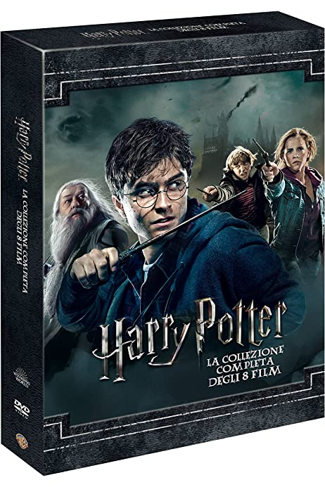 Harry Potter Collection Standard Edition 8 Dvd - Versión Italiana ...
