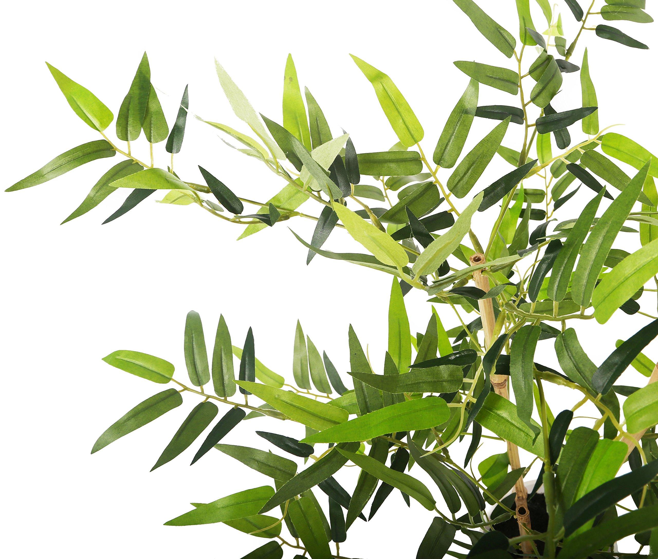 Closer2Nature P088D – Bambú Dorado Artificial con Maceta, 68,5 cm