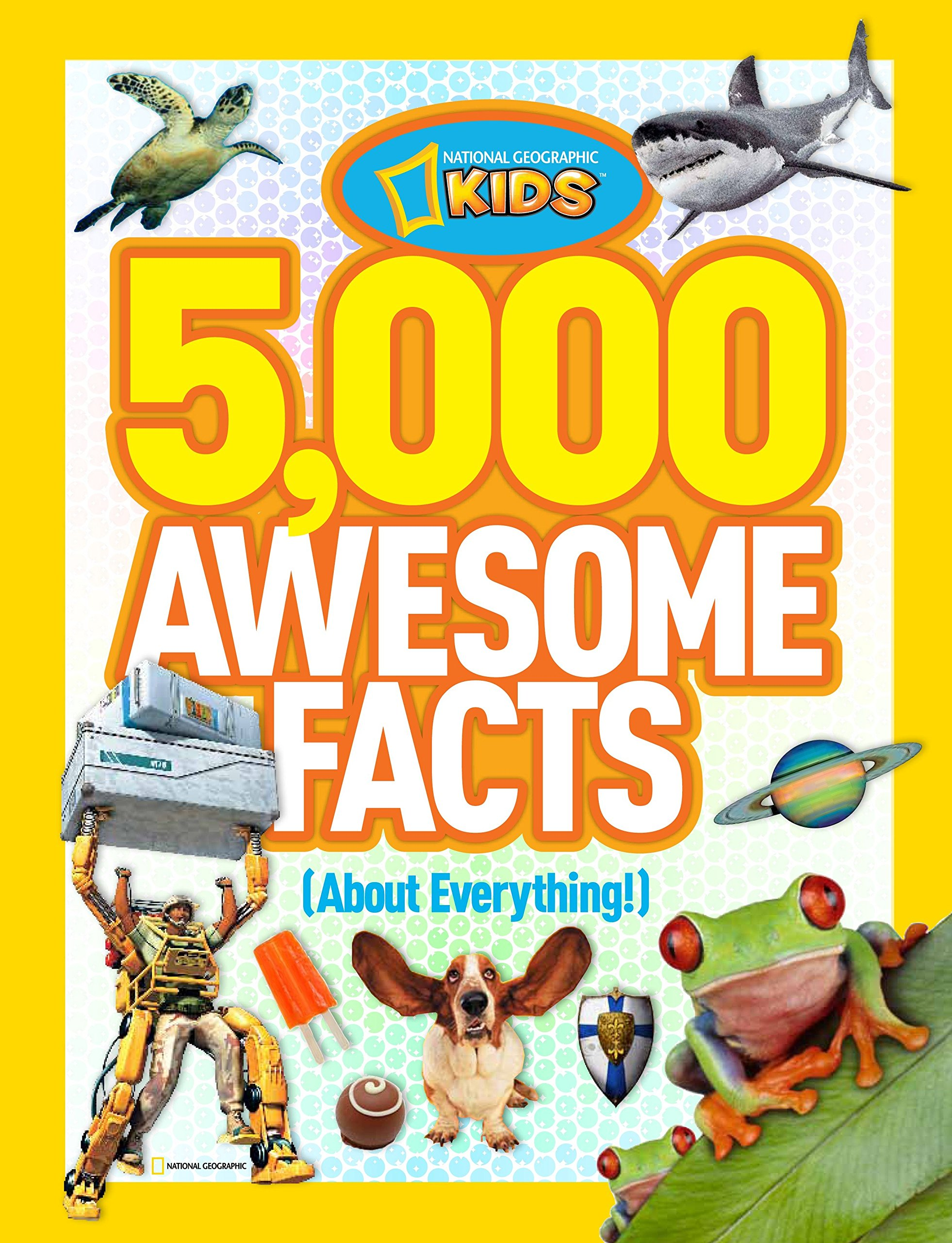 5,000 Awesome Facts about Everything (National Geographic Kids) 91hZa6hCnJL