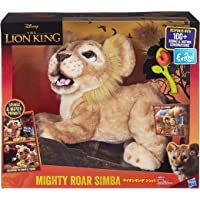 FURREAL FRIENDS Disney The Lion King Mighty Roar Simba Interactive Plush Toy, Brought to Life By furReal, 100+ Sound-and…