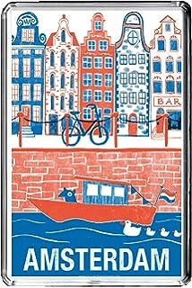 Calamita da frigo Flag of Netherlands fridge magnet