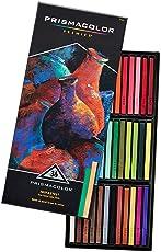 Prismacolor Premier NuPastel Firm Pastel Color Sticks, 36-Count