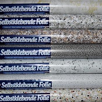 Klebefolie dekorfolie bruchstein braun meliert 45x200 cm for Folie steindekor