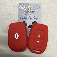 SFK Silicone Key Cover for New Renault Duster/Renault Kwid (Check Pics)