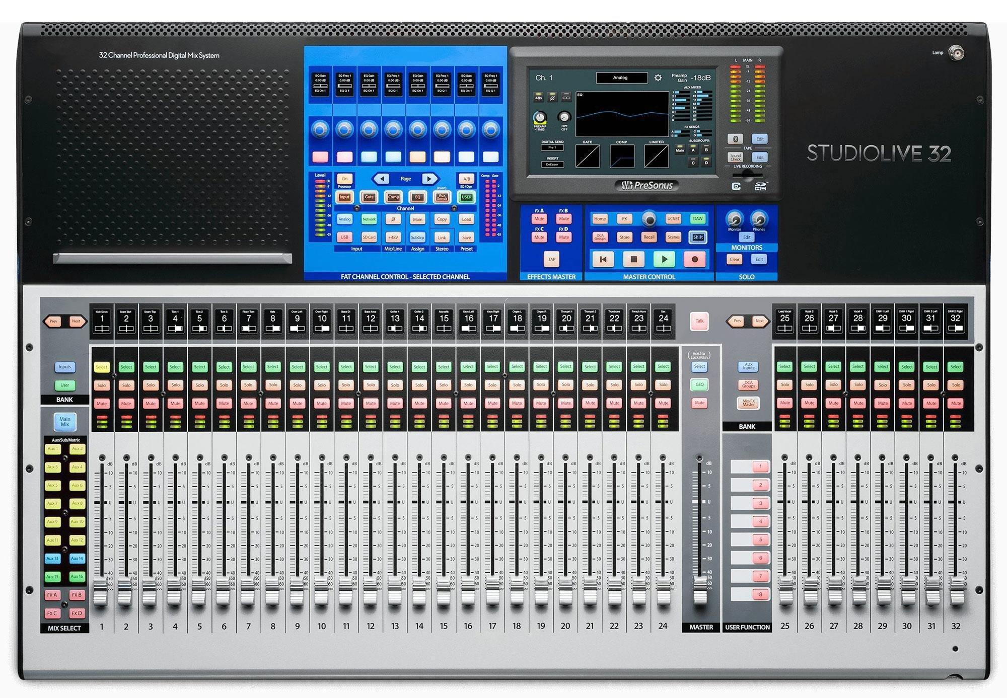 Mixer digitale Presonus Studio Live 32