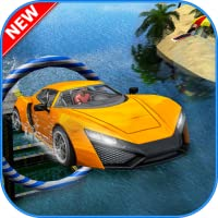 Water Surfing - Car Driving 3D