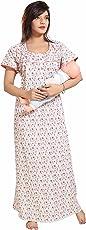Soulemo Women's Poly-Cotton Maternity Nightwear (279)