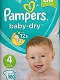Pampers Baby Dry Windeln, Größe 4Giga Pack 120