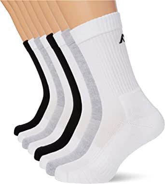 FM London (8-Pack) Cushioned Sports Socks | Extra Padding, Non Slip, Stretchy