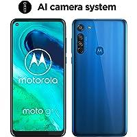moto g8 Dual-SIM Smartphone (6,4 Zoll-Max vision-Display, Dreifach-Kamerasystem, 64 GB/4 GB, Android 9.0) Blau