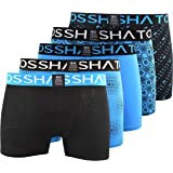 Crosshatch Mens Boxers Shorts (5 Pack) Multipack Underwear Gift Set Colour Mens Trunk Boxers