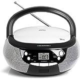 Blaupunkt B 3 PLL Boombox mit UKW PLL Radio | CD-Player | AUX IN / MP3 | Stereo-Lautsprecher | LCD-Display | Netz- und Batterie-Betrieb | Kinder Musikbox