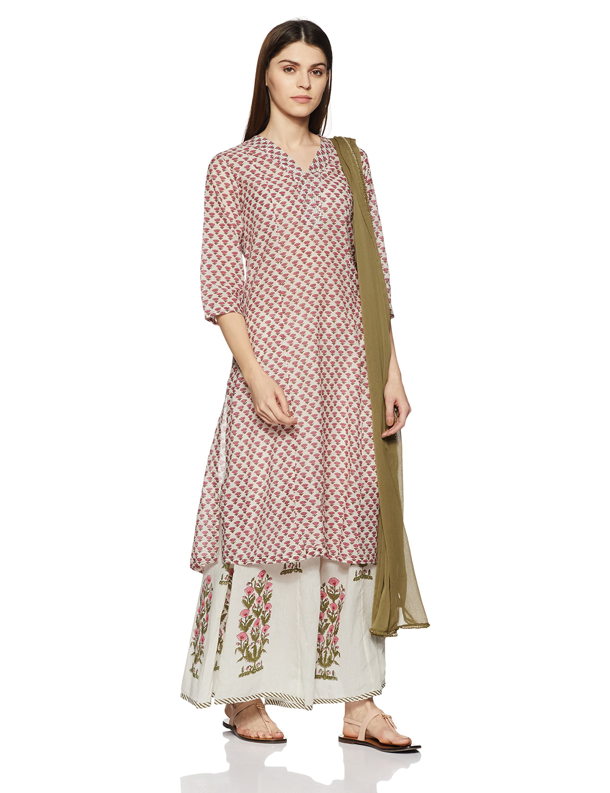 fb6a0e3bc BIBA Women s Straight Salwar Suit - Gia Designer
