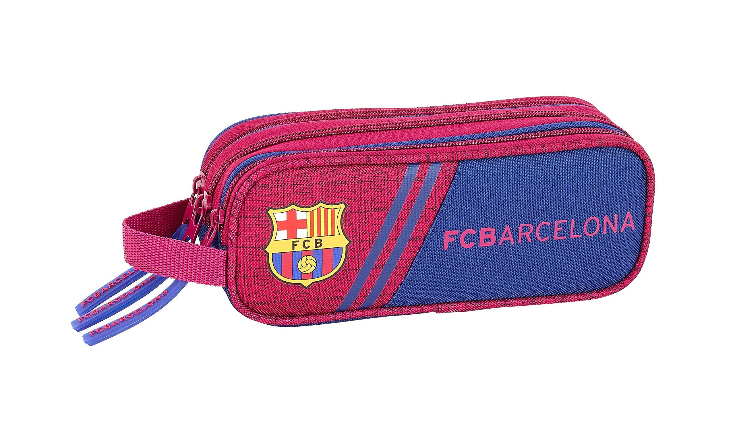 FC Barcelona Corporativa Oficial Estuche Triple Cremallera 210x70x85mm