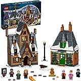 LEGO 76388 Harry Potter Hogsmeade by besök 20-årsjubileum set med samlarobjekt gyllene minifigur