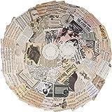 52 Feuilles Papier Journal Vintage Scrapbooking Papeterie Rétro DIY Album Photo pour Journal Artisanat Scrapbooking