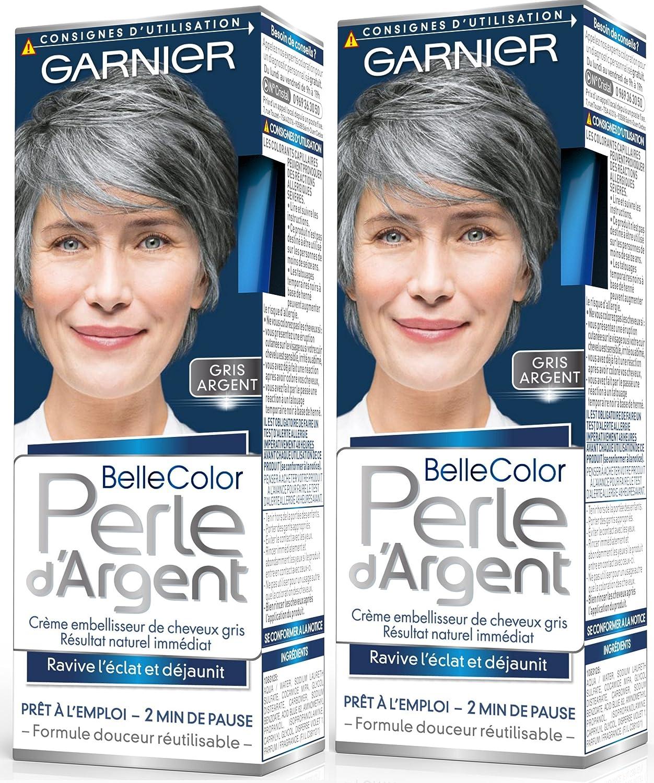 Coloration cheveux blancs garnier