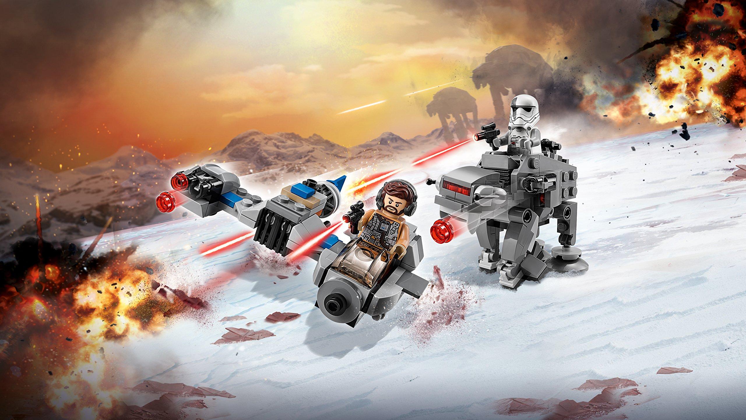 LEGO- Star Wars TMSki Speeder conMicrofighter First Order Walker, Multicolore, 75195 4 spesavip