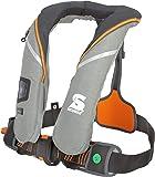 Automatische Rettungsweste Secumar Survival 220 Harness hellgrau / grau / orange