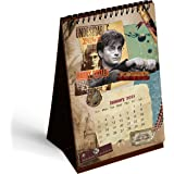 MCSID RAZZ- Harry Potter Table Calendar 2021 with Free Sticker   Monthly Desk Calendar   Table Top Calendar-2020-2021 Desktop