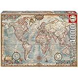 Educa - 14827 - Puzzle - Mapamundi Historico - 4000