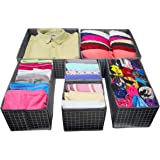 House of Quirk Foldable Cloth Storage BoxCloset Dresser Drawer Organizer Cube Basket Bins Containers Divider with…