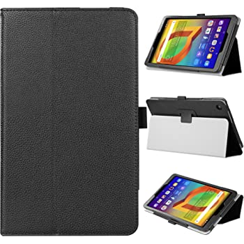 finest selection ab711 402b5 VOVIPO Argos Alcatel A3 10in Tablet Case -Slim Fit Folio PU Leather Case  forAlcatel A3 10in Tablet (Black)