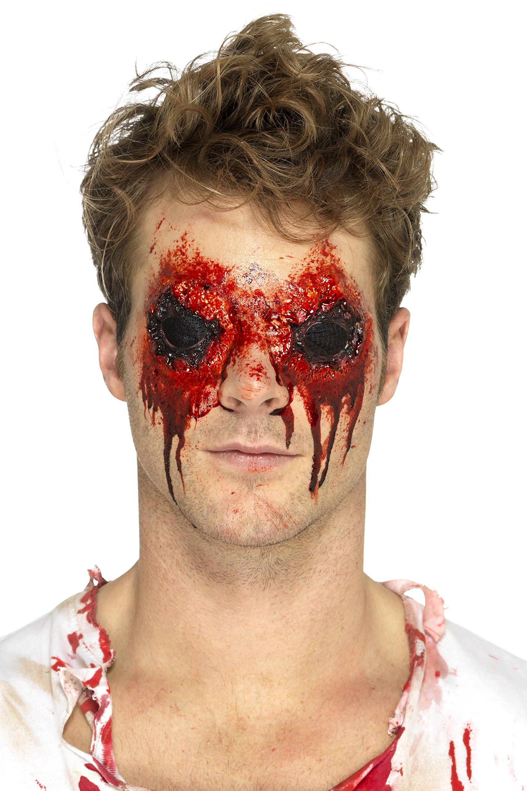 Smiffys 46806 Smiffy's Latex-Zombie-Augen-Prothese, fleischfarben, Einheitsgröße