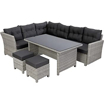 Amazon De Greemotion Rattan Lounge Set Toscana 5 Teilig