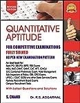 Quantitative Aptitude for Competitive Examinations Fully Solved As Per New Examination Pattern Second Edition price comparison at Flipkart, Amazon, Crossword, Uread, Bookadda, Landmark, Homeshop18