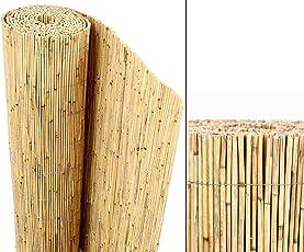 """Schilfrohrmatten Premium """"Beach"""", 180 hoch x 600cm breit, ein Produkt von bambus-discount - Sichtschutz Matten Windschutzmatten"""