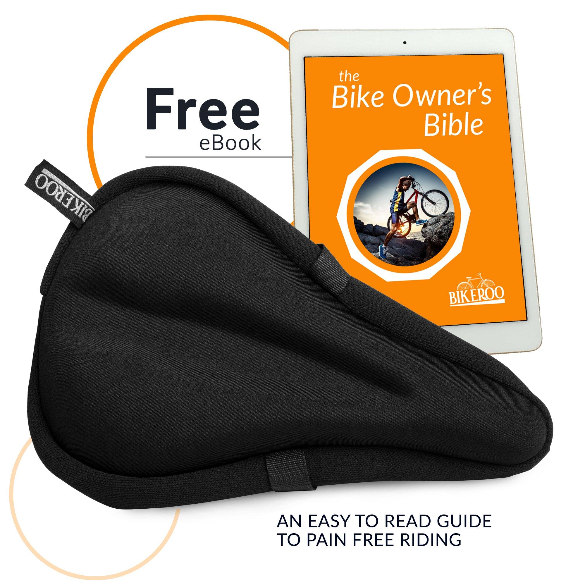 426e1949770 Bikeroo Most Comfortable Exercise Bike Seat Cushion – 28 x 18 CM ...