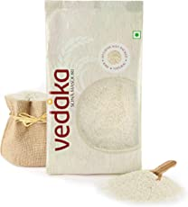 Amazon Brand - Vedaka Sona Masoori Raw Rice, 5Kg, White