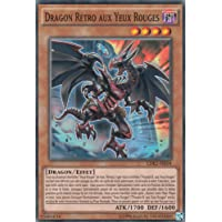 Carte Dragon Rétro aux Yeux Rouges : LDK22-FRJ04