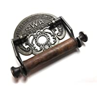 Traditional GWR railways vintage design victorian wall mounted toilet loo roll holder by Bowley and Jackson