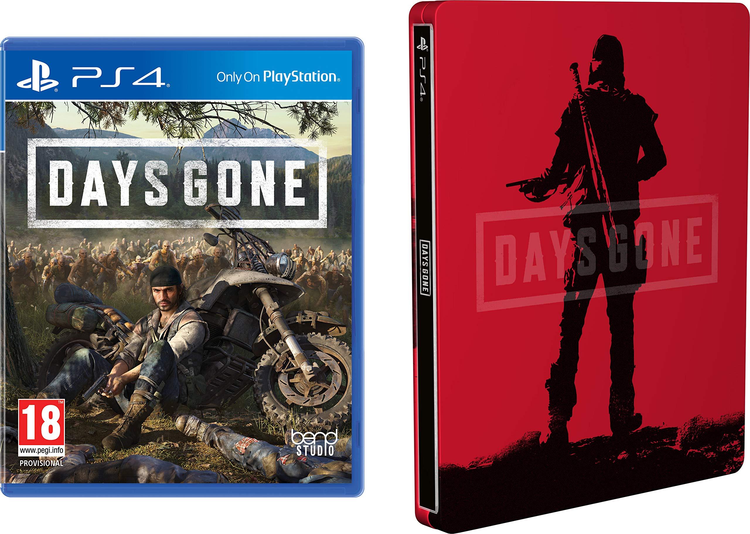 Days Gone + Steelbook para PlayStation 4