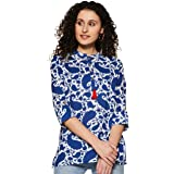 Amazon Brand - Myx Women's Cotton straight Short Kurti