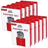 AVERY Zweckform 2575 Druckerpapier, Kopierpapier (5.000 Blatt, 80 g/m², DIN A4 Papier, weiß, für alle Drucker) 2 Boxen…