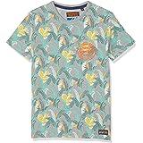 Superdry AOP Ticket Type Pkt Lite tee Camiseta para Hombre