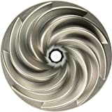 Nordic Ware Platinum Collection Heritage Bundt Pan, Silver