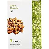 Amazon Brand - Solimo Almonds, 250g,Raw