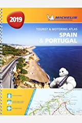 Spain & Portugal 2019 - Tourist and Motoring Atlas (A4-Spirale): Tourist & Motoring Atlas A4 spiral (Michelin Road Atlases) Spiral-bound