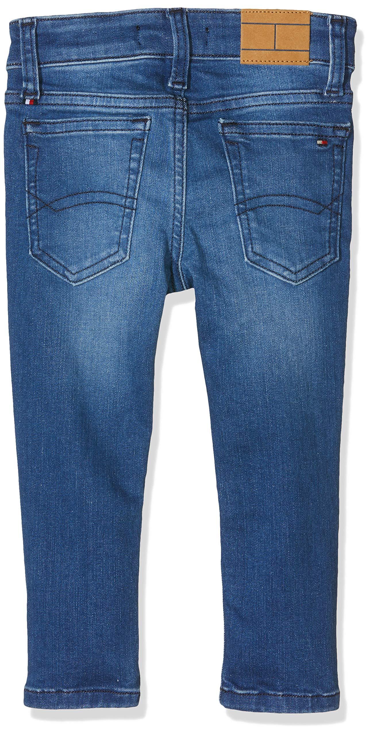 Tommy Hilfiger Simon Skinny Vimbst Jeans, Azul (Ville Mid Blue Stretch 911), 92 para Bebés 2
